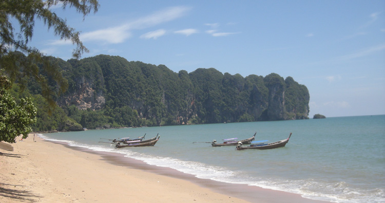 Thailand is famous for its exquisite beaches